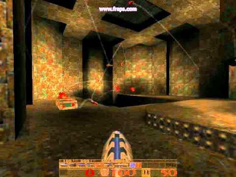 Quake Packet Overflow mod running on Darkplaces engine