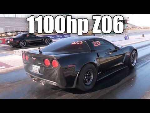 1100hp Turbo Z06 Corvette