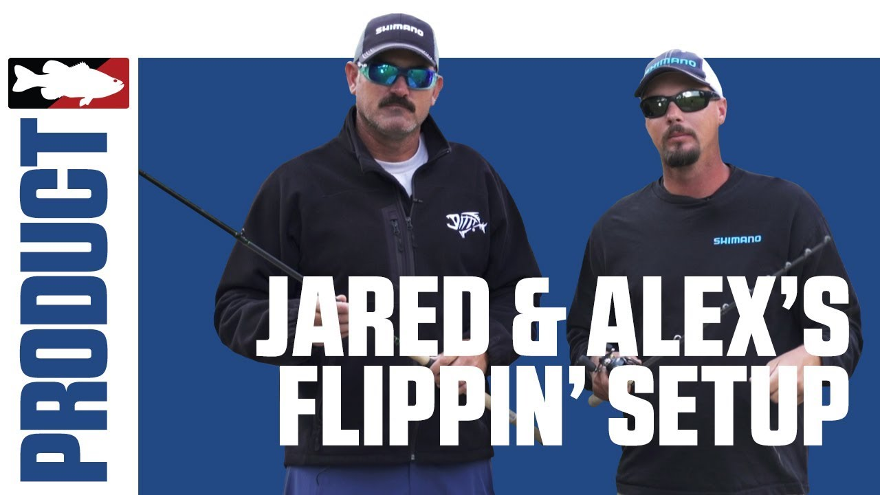 Jared Lintner and Alex Davis Talk About their Favorite Shimano/G. Loomis Flipping Rods