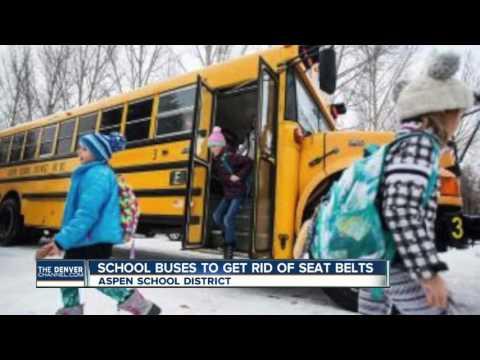Aspen school buses to get rid of seat belts