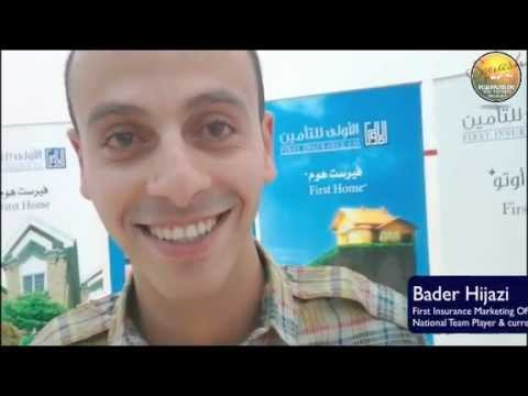 First Insurance Jordan Marketing Officer Bader Hijazi on Sponsorship