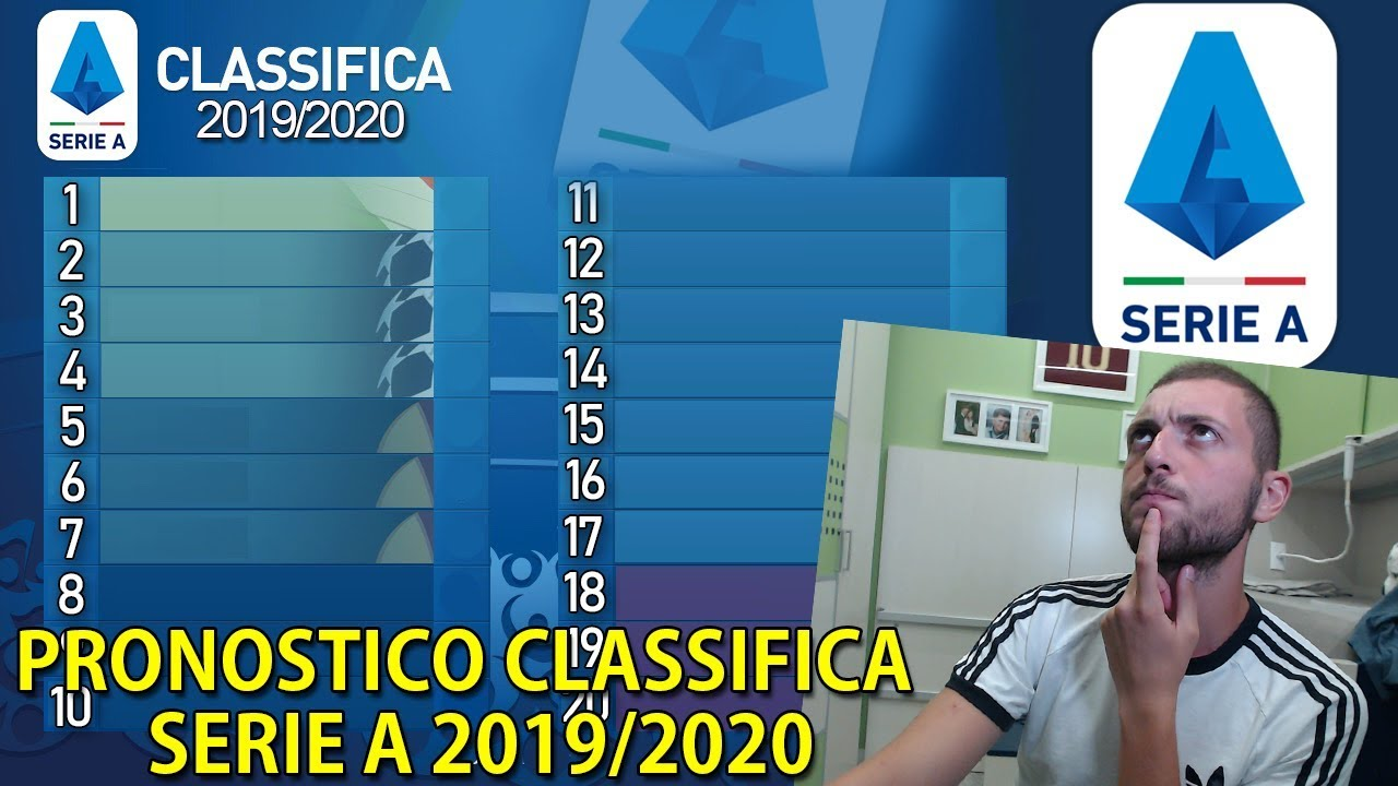 Classifica Serie A 2019 2020 Come Sará