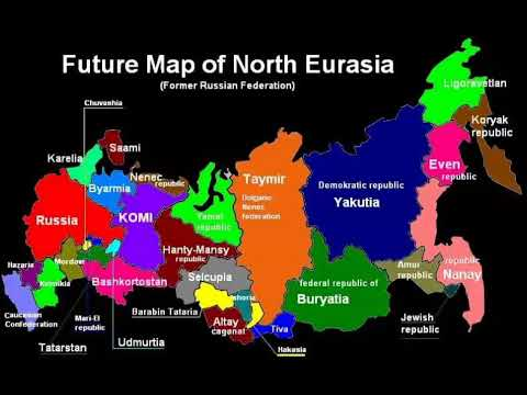 Future #Map of #Russia - Future Map of #Eurasia - Будущая ка