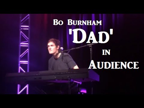 "Bo Burnham | ""Dad"" in Audience"