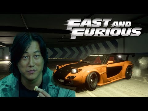 Need For Speed Payback   Han´s Mazda RX7 Customization From Fast & Furious Tokyo Drift