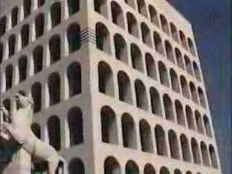 EUR, Fascist Architecture, Suburb of Rome, Italy