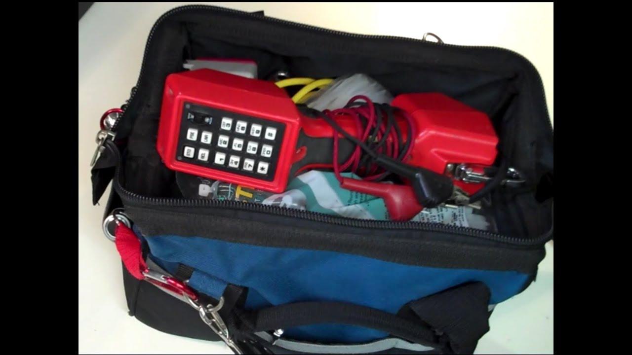 The Master Telecom Tech S Tool Kit Youtube