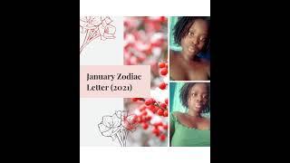January Zodiac Letter