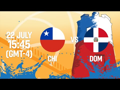 Chile v DOM - Full Game - Reclassification - 2016 FIBA Americas U18 Men's Championship