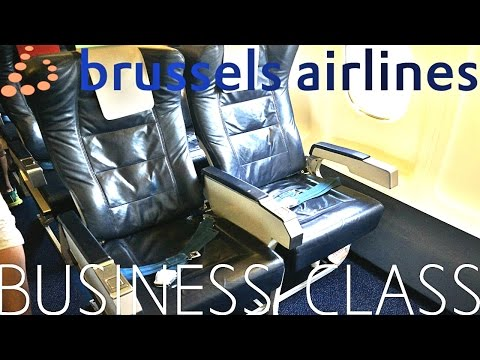 Brussels Airlines BUSINESS CLASS Oslo to Brussels|Avro RJ100