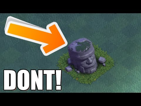 Clash Of Clans - WHY YOU SHOULD NOT REMOVE THIS STATUE!