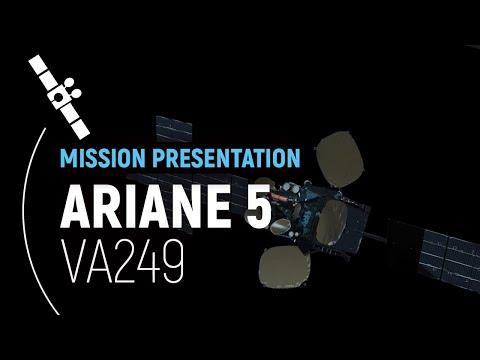 Arianespace Flight VA249  EDRS-C Presentation