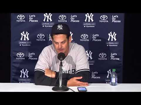 Aaron Boone's first win as Yankees manager