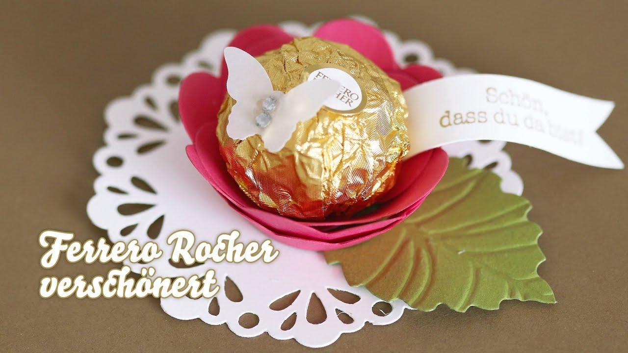 Verpackung Ferrero Rocher Verschönern