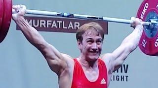 2009 European Weightlifting Championships, Men 77 kg \ Тяжелая Атлетика. Чемпионат Европы