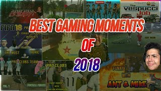 Favorite Gaming Moments of 2018