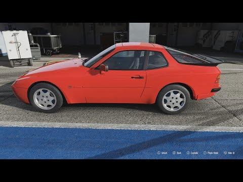 FORZA Motorsport 7 - 1989 Porsche 944 Turbo - Car Show Speed Crash Test .