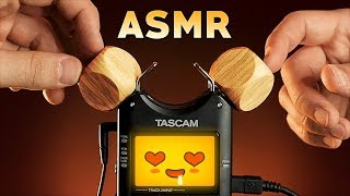 ASMR Wooden Triggers to Help You Sleep, Study, Relax & TINGLE (No Talking)