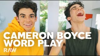 Cameron Boyce Interviews HIMSELF for RAW's Word Play (FULL VIDEO)