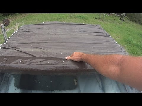 Update on home made spa cover