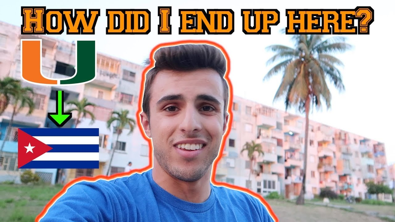 FROM CAMPUS TO CUBA | *WILD* COLLEGE/TRAVEL VLOG