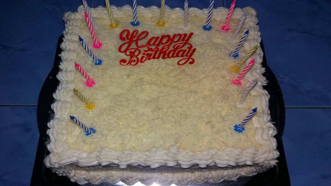 Cara Membuat Kue Ulang Tahun Sederhana