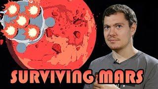 [СТРИМ] Строю колонию на Марсе в Surviving Mars. Завидуй, Илон Маск!