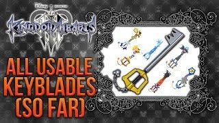 All Kingdom Hearts 3 Keyblades & Transformations So Far