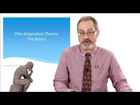SPU Dr. Richard Feist talks on Film Adaptation Theory: The Basics