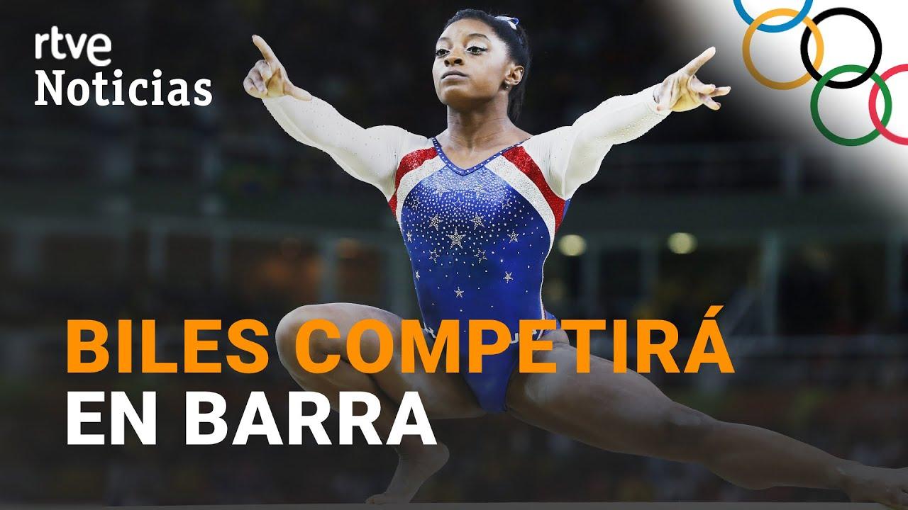 #Tokyo2020: Simone BILES VUELVE a la competición en la final de BARRA de equilibrio | RTVE