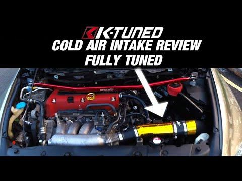 8th Gen Civic Si | K-Tuned Cold Air Intake Review | VTEC Paradise | 1440p