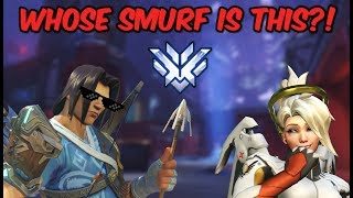 """whose smurf is this!? amanda is insane!"" hanzo smurfing ft. eeveea"