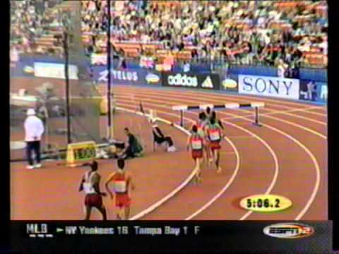 2001 IAAF World Championship Steeplechase