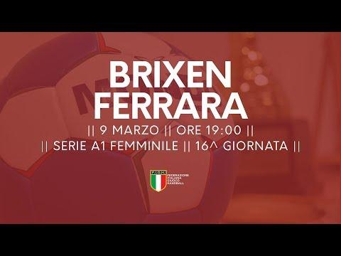 Serie A1F [16^]: Brixen - Ferrara 36-21