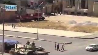 Siria, Homs Ciudad, FUERTE PRESENCIA DE TANQUES EN LA CIUDAD, 08/06/2011
