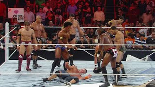 Wade Barrett leads a vicious Nexus attack on John Cena: Raw, June 7, 2010