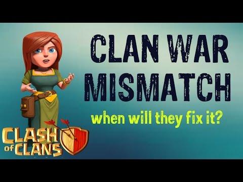 clan war matchmaking formula