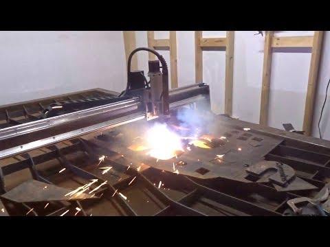 CUSTOM CNC PLASMA TABLE BUILD!!