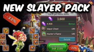 New Discounted Slayer Pack Worth it ? - Lords Mobile