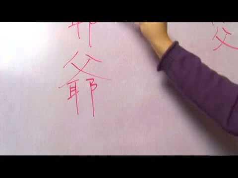 Chinese Symbols for Kinship & Holidays