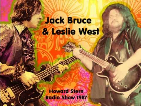 Jack Bruce & Leslie West - Theme For an Imaginary Western (Howard Stern Show)