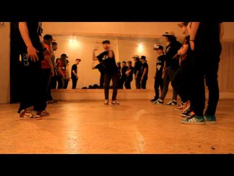 Krump session in Dance Center Encore