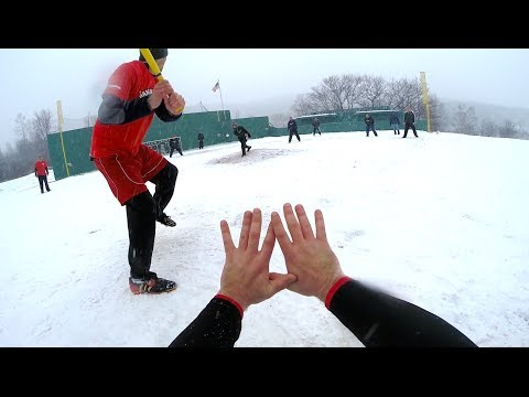 GoPro | Winter Wiffle Ball | Little Fenway | HD