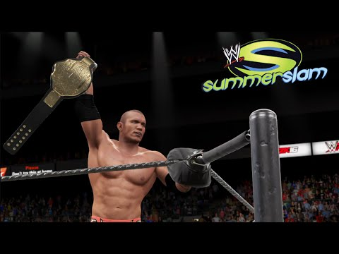 Randy Orton vs Chris Benoit - Summerslam 2004- World Heavyweight Champion Match| WWE 2K16 Simulation