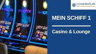 MEIN SCHIFF 1   Casino und Lounge