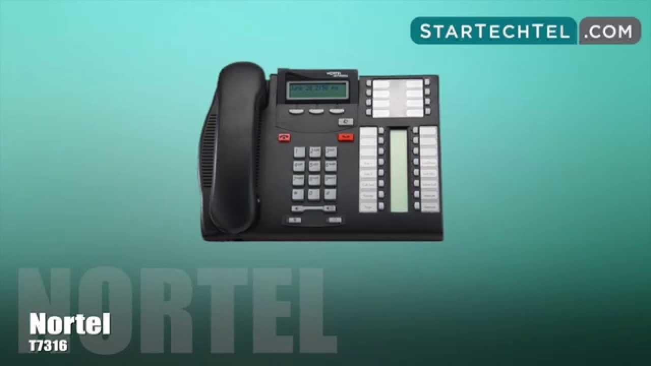 Nortel T7316 Phone