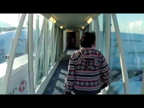 Flight Dubai - Zurich on Emirates A380 Business Class
