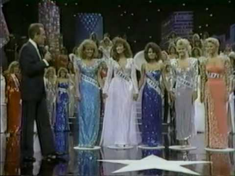 miss usa 1986 crowning moment youtube