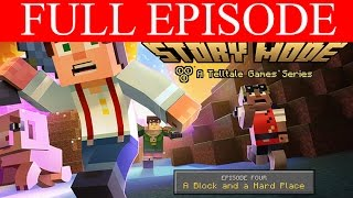 Minecraft Story Mode Full Episode 4 A Block and a Hard Place Full Game Telltales PC