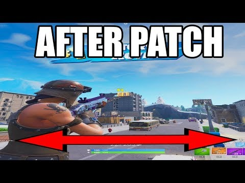 *WORKING* HOW TO GET STRETCHED RESOLUTION IN FORTNITE AFTER PATCH!